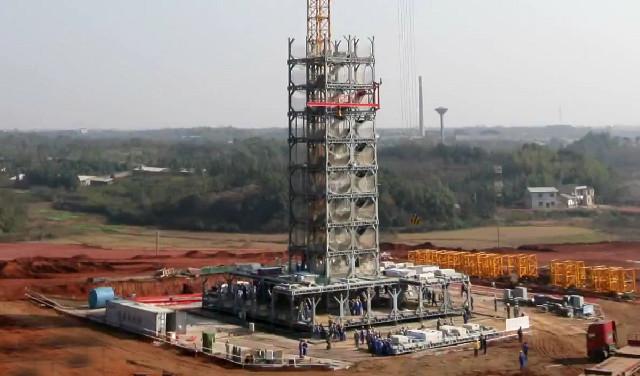 Un edificio di 30 piani in sole due settimane for Piani di costruzione dell edificio