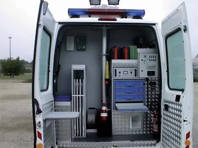 Caino un ufficio mobile per la polizia locale di caino for Mobile con chiave per ufficio